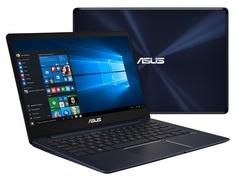 Ноутбук ASUS Zenbook UX331UN-EA056T 90NB0GY1-M04280 (Intel Core i7-8550U 1.8 GHz/16384Mb/512Gb SSD/No ODD/nVidia GeForce MX150 2048Mb/Wi-Fi/Bluetooth/Cam/13.3/3840x2160/Touchscreen/Windows 10 64-bit)