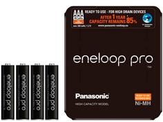 Аккумулятор AAA - Panasonic Eneloop Pro 900 mAh 4BP BK-4HCDE/4LE
