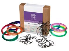 Аксессуар U3FUN Набор для 3D рисования Елочные игрушки