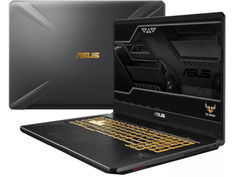 Ноутбук ASUS FX705GM-EV203 Gunmetal 90NR0121-M04310 (Intel Core i5-8300H 2.3 GHz/16384Mb/1000Gb+256Gb SSD/nVidia GeForce GTX 1060 6144Mb/Wi-Fi/Bluetooth/Cam/17.3/1920x1080/DOS)