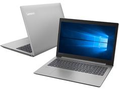 Ноутбук Lenovo IdeaPad 330-15IKB Grey 81DE01YNRU (Intel Core i3-7020U 2.3 GHz/4096Mb/128Gb SSD/AMD Radeon 530 2048Mb/Wi-Fi/Bluetooth/Cam/15.6/1920x1080/Windows 10 Home 64-bit)
