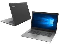 Ноутбук Lenovo IdeaPad 330-17AST Black 81D7001KRU (AMD A4-9125 2.3 GHz/4096Mb/500Gb/AMD Radeon R3/Wi-Fi/Bluetooth/Cam/17.3/1600x900/Windows 10 Home 64-bit)
