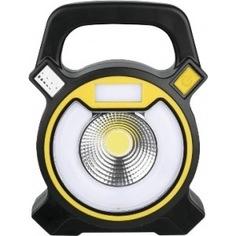 Аккумуляторный кемпинговый фонарь camelion led5631 cob led, 5в, 2.4 ач, usb, пласт, черный, коробка 13359