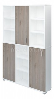 Шкаф книжный Домино нельсон ПУ-40-3 МЭРДЭС
