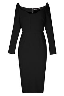 Черное платье-футляр Ardon Roland Mouret