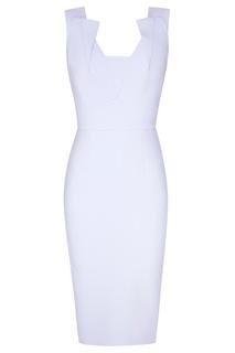 Голубое платье Coleby Roland Mouret