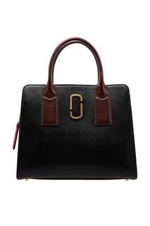 Комбинированная кожаная сумка Marc Jacobs
