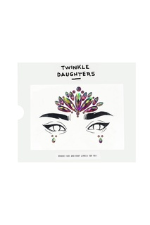 Патч для лица «треугольник» с розовыми кристаллами Twinkle Daughters