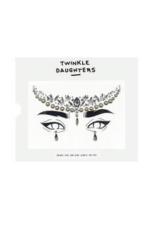Патч для лица «месяц» жемчужинами Twinkle Daughters