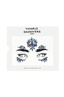 Патч для лица с синими кристаллами из пяти частей Twinkle Daughters