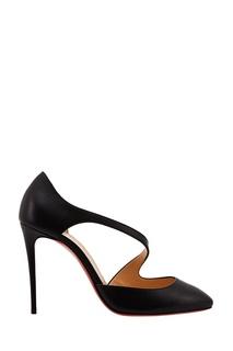 Черные туфли Catchy One 100 Christian Louboutin