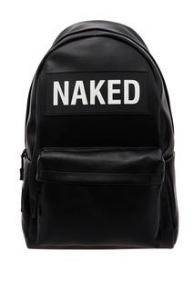 Черный рюкзак NAKED с нашивками Korobeynikov