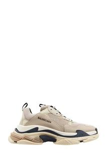 Бежевые кроссовки Triple S Balenciaga Man