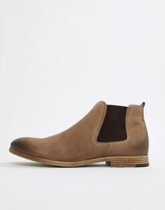 Бежевые замшевые ботинки челси ALDO Albiston - Бежевый