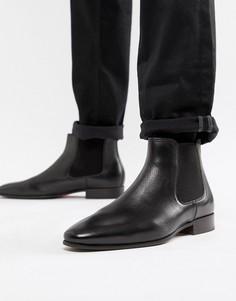 Черные кожаные ботинки челси ALDO - Черный