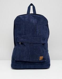 Вельветовый рюкзак Jack & Jones - Темно-синий
