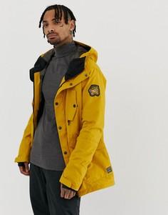 Желтая куртка Billabong Adversary - Желтый