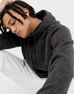 Черная флисовая куртка на молнии Billabong - Черный