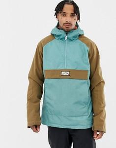 Сине-коричневая куртка Billabong Stalefish - Синий