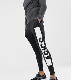 Черные трикотажные брюки Asics - Черный