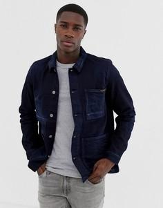 Куртка цвета индиго Nudie Jeans Co Paul - Темно-синий