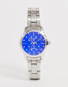 Серебристые женские часы с кристаллами Swarovski от Eternity - Серебряный