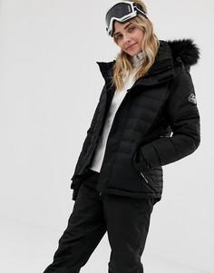 Лыжная куртка Surfanic Poppy - Черный