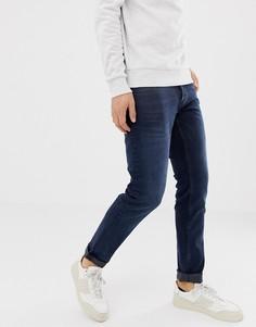 Темно-синие узкие джинсы Solid - Синий !Solid