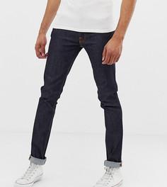 Суженные книзу джинсы Nudie Jeans Lean Dean - Темно-синий