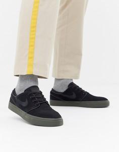 Черные кроссовки Nike SB Zoom Stefan Janoski 333824-072 - Черный
