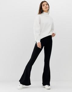 Расклешенные спортивные брюки NYTT Corrigan - Черный