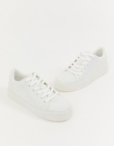 Кроссовки с блестками ALDO Etilivia - Черный