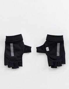 Черные перчатки без пальцев со светоотражающей отделкой ASOS 4505 - Серый