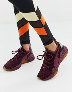Бордовые кроссовки Puma Defy - Красный