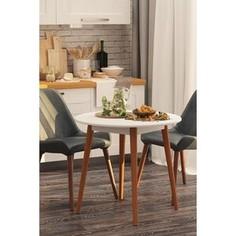 Столы обеденные Калифорния мебель Орион белый