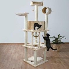 Когтеточка TRIXIE Комплекс Montilla с домиком бля кошек 212см (43631)