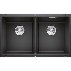 Кухонная мойка Blanco SubLine 350/350-U антрацит (523574)
