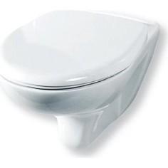 Унитаз подвесной Rosa Элеганс Люкс белый с микролифтом Click Up (4620008195438)
