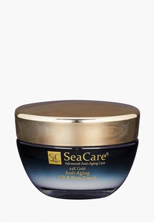 Крем для лица SeaCare антивозрастной подтягивающий и повышающий упругость с Реноваж, Золотом и Витамином Е, 50 мл