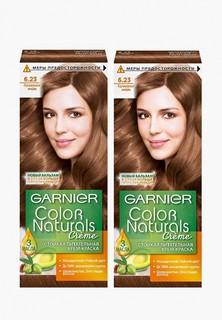 """Краска для волос Garnier """"Color Naturals"""",оттенок 6.23, Перламутровый миндаль, 2 шт"""