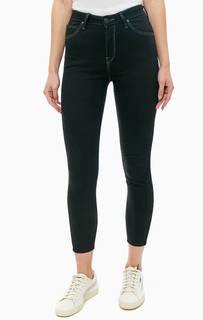 Черные укороченные джинсы Scarlett High Croppe Lee