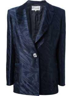 Gianfranco Ferre Vintage блестящий костюм с юбкой