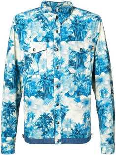 Moncler рубашка-пиджак Trionphe