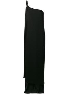 Max Mara асимметричное платье