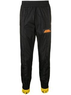 Palm Angels зауженные спортивные брюки кроя слим
