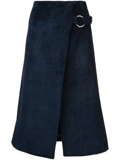 Adam Lippes юбка мини расклешенная