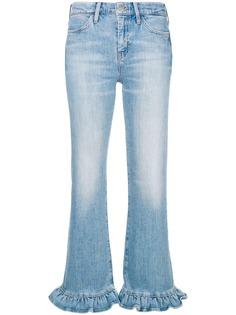 Mih Jeans расклешенные джинсы с оборочной отделкой