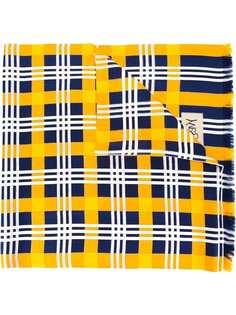 Yves Saint Laurent Vintage платок в клетку