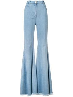 Balmain расклешенные джинсы с завышенной талией