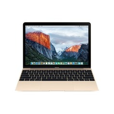 "Ноутбук APPLE MacBook MRQP2RU/A, 12"", IPS, Intel Core i5 7Y57 1.3ГГц, 8Гб, 512Гб SSD, Intel HD Graphics 615, Mac OS X, MRQP2RU/A, золотистый"